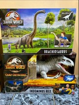 Jurassic World Camp Cretaceous Indominus Rex and Legacy Collection Brach... - $162.96