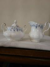 Royal Albert Memory Lane Cream Pitcher & Covered Sugar Bowl Set - Mint Condition - $58.04