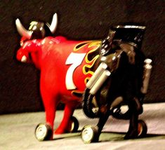 # 7 Westland Giftware Cow Parade Item # 9206 with Box AA-191724 Vintage Collect image 8