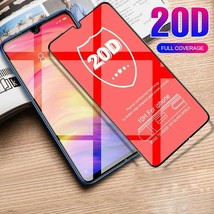 20D Curved Tempered Glass Film Xiaomi Redmi 7 Note Pro Screen Protector 6A 6 - $10.52+