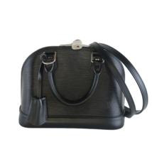 Louis Vuitton Black Noir Epi Alma BB Crossbody Bag - $1,269.60
