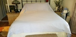 Williams Sonoma Home LILAC LINEN Duvet Cover F/Q LOVELY NWOT #21 - $129.00