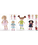 "Adorable Apple Dumplin Cloth Doll, 14"", Delton, Choose One - $29.45"