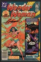 COA Wonder Woman #283 1st George Perez WW Art SIGNED X3 Joe Staton Jose ... - $39.59