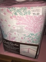 Dwell Studio Sweet Fawn 4-Piece Crib Bumper Brand New Pink, Teal and Gray - $84.12