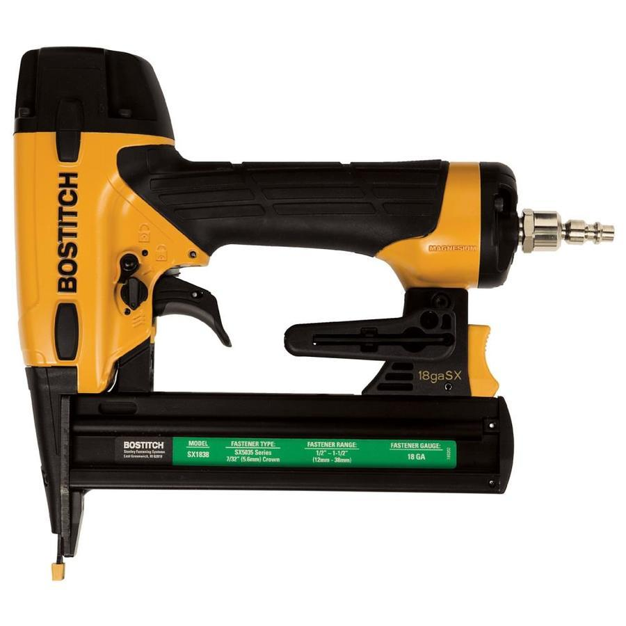 Bostitch 18-Gauge 7/32-in Narrow Crown Finish Pneumatic Stapler - $116.10