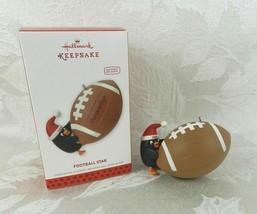 Hallmark Christmas Ornament - Football Star - 2013 Penguin Personalize - $14.84