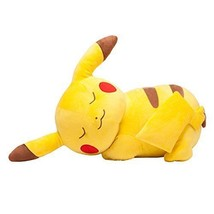 Pokemon Center Licensed Onemuri Pikachu Sleeping large plush doll JP - $130.58