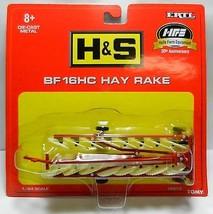 1:64 ERTL *H&S* BF16HC Hi Capacity Hay Rake *BRAND NEW* NIP! - $35.99