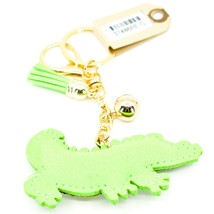 Pave Crystal Accent 3D Stuffed Pillow Alligator Crocodile Keychain Key Chain image 2