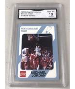 MICHAEL JORDAN 1989 North Carolina Collegiate Collection  GRADED PSA 10 ... - $26.85