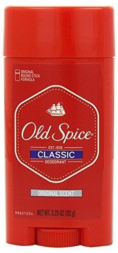 Old Spice Classic Deodorant Stick, Original 3.25 oz ( Pack of 5)
