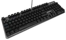 Maxtill G610KV2 Korean English Gaming Keyboard Outemu Switches (Blue Switch) image 2