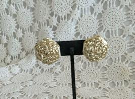 Ladies Silver Tone Cluster Clip On Earrings  - $2.90