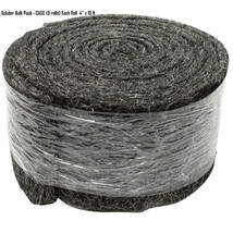 """Xcluder Fill Fabric Keeps Out Rodents Snakes Insects Bulk Pack (5) 4""""x 1... - $184.95"""