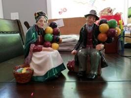 "Vintage Royal Doulton 'The Balloon Man"" & ""The Old Lady Balloon Seller"" ... - $257.40"