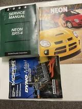 2004 Dodge Neon SRT 4 Servizio Riparazione Negozio Manuale Set W Extra - $98.94