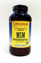 Swanson Ultra Msm 240 Capsules X 1000 Mg - $20.37