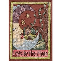 Mill Hill ST303102 28 Count Sticks Love by The Moon Counted Cross Stitch... - $21.28
