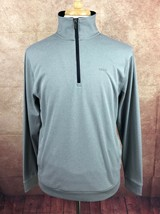 IZOD Men's PerformX Golf 1/4 Zip Pullover w/ Pockets Jacket Coat Gray Me... - $15.83