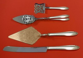 Lasting Spring by Oneida Sterling Silver Dessert Serving Set 4pc Custom Made - $299.00