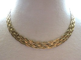 "HCT Sterling Silver Chain Necklace Multi Herringbone 17.75"" Italy 20g Vermeil - $44.54"