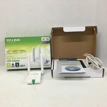 TP Link N300 High Gain Wireless USB Adapter TL WN822N 300mbps Range 5X S... - $9.89