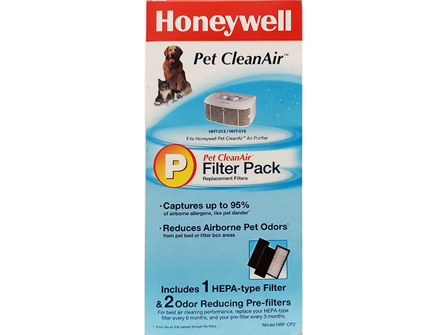 Honeywell-Pet CleanAir-Filter Pack, Replacement Filters