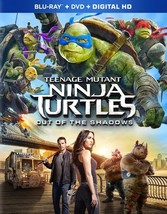 Teenage Mutant Ninja Turtles 2-Out Of The Shadows (Blu Ray/DVD/Hd Combo)