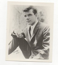 BOBBY VEE US Singer Autographed Press Photo Take Good Care of My Baby - $39.60
