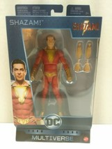 "DC Multiverse SHAZAM 6"" Figure SHAZAM! BNIB 2019 MOVIE VERSION Zachary Levi - $27.99"