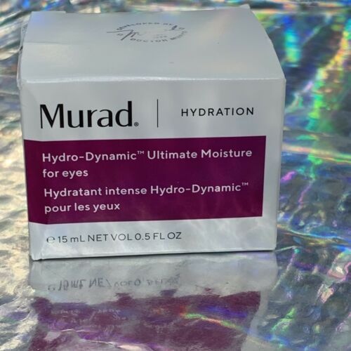 Murad Hydration Hydro Dynamic Ultimate Moisture For Eyes 0.5oz/15ml New in Box