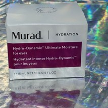 Murad Hydration Hydro Dynamic Ultimate Moisture For Eyes 0.5oz/15ml New in Box image 1
