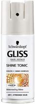 GLISS Total Repair SHINE Tonic SPRAY MINI TRAVEL SIZE Dry Brittle Hair 1... - $9.10