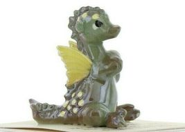 Hagen Renaker Miniature Dragon Baby Green Ceramic Figurine image 10