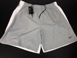 NIKE BIG & TALL Mens Dri-Fit Training Shorts Pumice White 4XL - NEW - $28.66