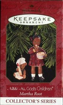 1997 New in Box - Hallmark Keepsake Christmas Ornament - Nikki - Marth Root - $3.95