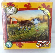 """Castorland B-120130 /""""a Day In The Harbour/"""" Premium Maxi Jigsaw Puzzle"""