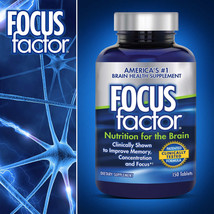 FOCUS factor Brain Health Memory Dietary Supplement 150 Tablets Freeship... - $20.98