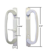 Sash Controls Mortise Style Patio Handle, B-Position, Non-Keyed, White - $44.50