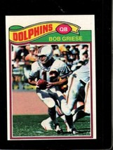 1977 TOPPS #515 BOB GRIESE NM DOLPHINS HOF  *X3730 - $4.95