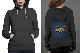 Classic Hoodie Black women The Avenger Chibby - $28.99