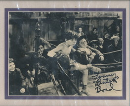 Tommy Butch Bond signed photo. Double matted. NICE!! Little Rascals. Our... - $24.95