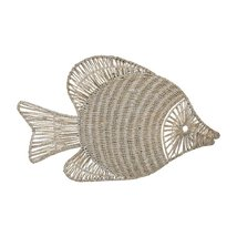 Sterling Wicker Fish Wall Decor - $158.00