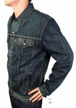 NEW LEVI'S MEN'S PREMIUM CLASSIC COTTON BUTTON UP DENIM JEANS JACKET 705890019 image 3