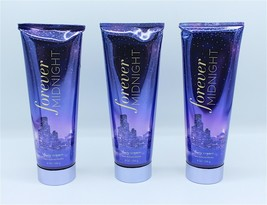 (Set of 3) Bath & Body Works Forever Midnight Body Cream, 8 oz each, Luxury - $68.99