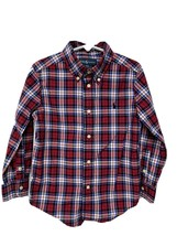 Ralph Lauren boys kids shirt plaid long sleeve button front size 4/4T - $13.74
