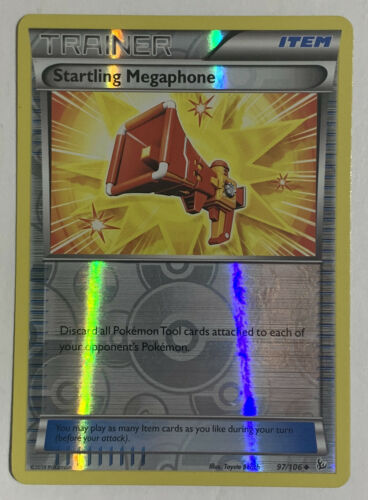 Primary image for Startling Megaphone 97/106 Reverse Holographic Pokemon Card XY Flashfire LP