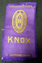 1910 EGYPTIENNE LUXURY Tobacco Cigarette Silk KNOX - $14.52