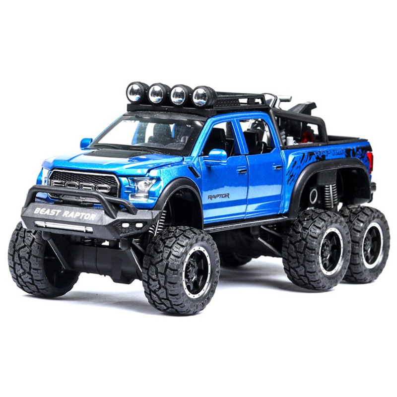 Primary image for  Toy F150 JEEP Metal  Pours Pressure Vehicle Model With Light Sound  Toys  Gifts